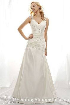 Eden Bridal Gown SL003 - Visit Wedding Shoppe Inc. for designer bridal gowns, bridesmaid dresses, and much more at http://www.weddingshoppeinc.com