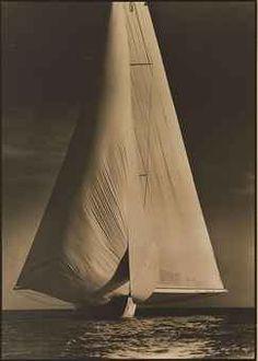 Margaret Bourke-White / Vanitie, International Yacht Races, 1934  / from Christie's