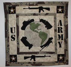 Army quilt