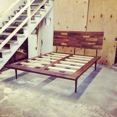 Solid Walnut Platform Bed by jeremiahcollection on Etsy