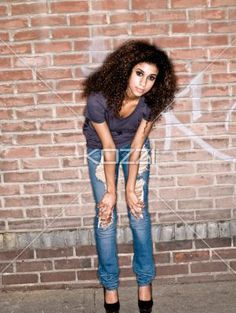 girl leans forward - Girl Sstands on sidewalk and leans forward   MUA - Wright Artistry www.wrightartistry.com