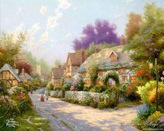 Image detail for -Thomas Kinkade Paintings, Thomas Kinkade Wallpapers, Art Print ...
