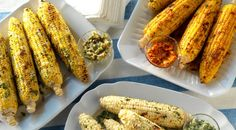 Three different ways to make grilled corn on the cob!
