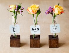 DIY Bud Vase Souvenir