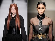 Double Take - 10 Best Runway Beauty Ideas To Steal from the Spring Shows beauti idea, beauty makeup, 2013 fall, fashion week, fascin street, makeup ideas, fall fashion, runway beauti, doubl hair