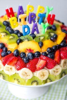 mmm...pastel de frutas