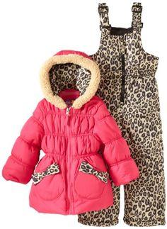 Pink Platinum Girls 2-6X Cheetah Snowsuit - List price: $110.00 Price: $25.00 Saving: $85.00 (77%)