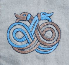 Embroidery - motive of from Nehringen. - Othala Craft