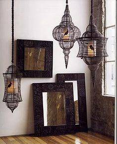 Bird cage lanterns!!