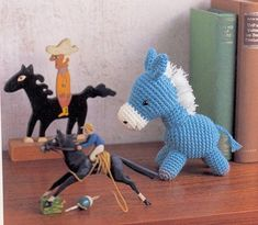 FREE Amigurumi Horse Crochet (Chart) Pattern / Tutorial