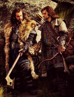 Thorin and Kili.