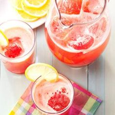 Raspberry Lemonade Concentrate Recipe from Taste of Home