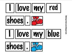 Here is an activity for a literacy work station to build concepts of print and conventions. The children build a sentence in the pocket chart and r...