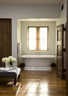 impressive space - great tub placement