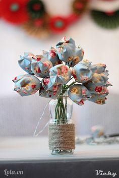 DIY: fabric tulip