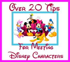 Over 20 Disney Character Autograph Tips from Fans and Parents (Disney World Planning article)