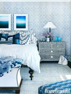 Martin Horner Designed Michigan Lake House - Martin Horner Interiors - House Beautiful