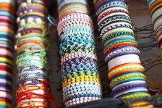 Friendship Bracelet Designs and Instructions