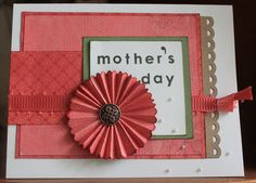 Mother's Day card featuring CTMH Roxie and Stella by Camile Steenhof www.craftingwithcamile.blogspot.com