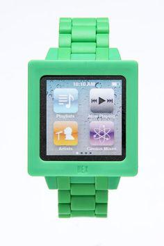 product, idea, ipods, style, stuff, gadget, ipod nano, icon watch, appl