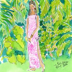 Raise a glass as we toast to the Palm Beach Legend… #LillysBIrthday #Lilly5x5