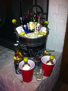 Stock the Bar Party