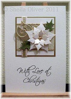 christmas cards, christma card, spellbinders poinsettia, spellbinder poinsettia, card christma, white poinsettia, 01 card, spellbind poinsettia, spellbind christma