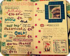 Moleskine planner, week 6