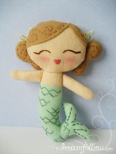 mermaid softie...