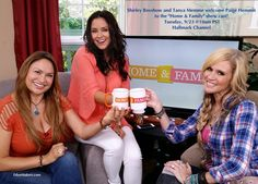 "SET YOUR RECORDERS! Tues, 9/23 @10AM PST on ""Home & Family"" show on Hallmark. Shirley does a ""Pumpkin Patch Rescue"" and welcomes new cast member, Paige Hemmis, (Extreme Home Makeover) along with DIY Expert, Tanya Memme. — with Tanya Memme and Paige Hemmis."