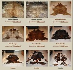 Oh and a must! The cabin home isn't complete without a cowhide rug. I like brindle or salt n pepper...