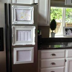 fancy frame fridge magnets