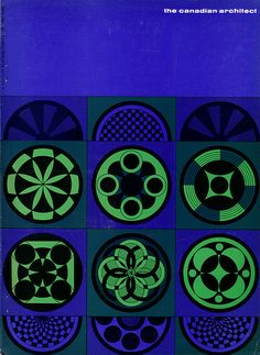 The Canadian architect - June 1965 Cover design by Laszlo Buday via flickr