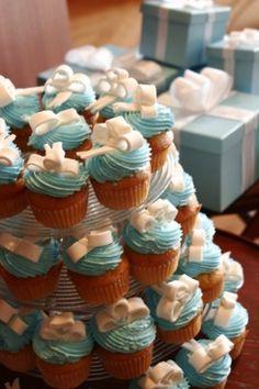 baby shower cupcakes, aqua blue, color, themed cupcakes, tiffany blue, wedding cakes, cupcake towers, bridal showers, bridal shower cakes