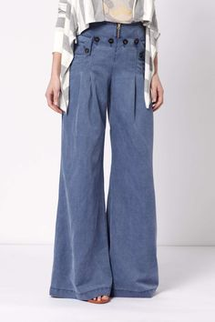 funky flares! these were elephant leg jeans when I was a teen in the late 70's