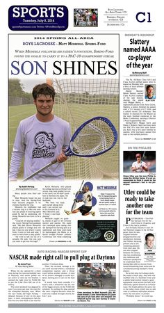 Spring-Ford's Matt Messerle was named the 2014 All Area Boys Lacrosse Player of the Year. Read more at http://www.gametimepa.com/Sports/ci_26105236/BOYS-LACROSSE:-SpringFord-goalie-Messerle-named-Mercury-AllArea-Player-of-the-Year