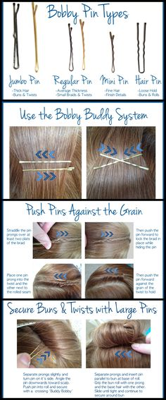 Insider Stylist Secrets: Bobby Pin Tips