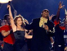 Gloria Estefan and Stevie Wonder - Super Bowl XXXIII (1999). Theme: Celebration of Soul, Salsa and Swing