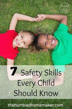 7 Safety Skills Every Child Should Know - TheHumbledHomemaker.com