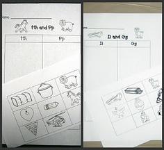 Many beginning Letter Sound Games