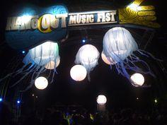Entrance to The Hangout Festival in Gulf Shores, AL