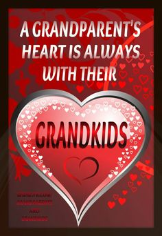 Grandparents and grandkids are both so awesome!