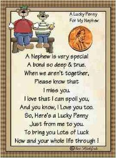 I Love You Nephew Quotes : Nephew Quotes
