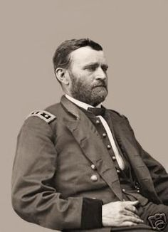 Great Civil War Photo Of Union General, Ulysses S Grant