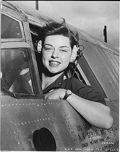 WASP pilot during the Korean War