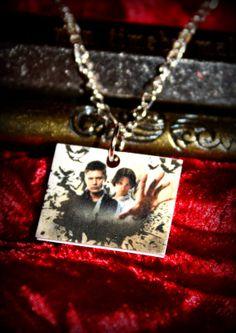 Supernatural Sam Dean charm Necklace
