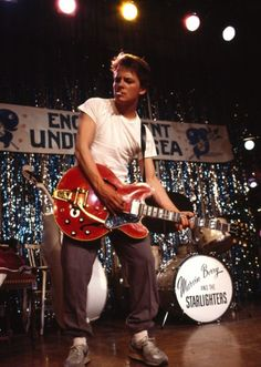 Helped Chuck Berry become an all time favourite for us at Sqrall.com. Back to the future still epic!