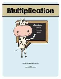 This download has 7 multiplication games, 2 math centers, 4 worksheets, and 1 resource page. If you are teaching beginning multiplication or just n...
