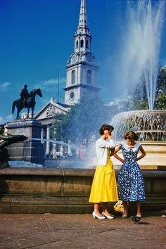 Fashion in London, 1957