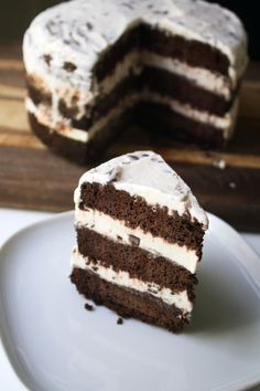Mint Chocolate Cakes on Pinterest | Chocolate Cake Fillings, Chocolate ...
